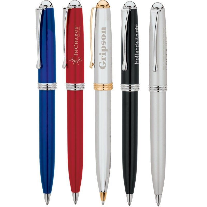 Adora Solid Brass Barrel Gloss Finish Ballpoint Pen