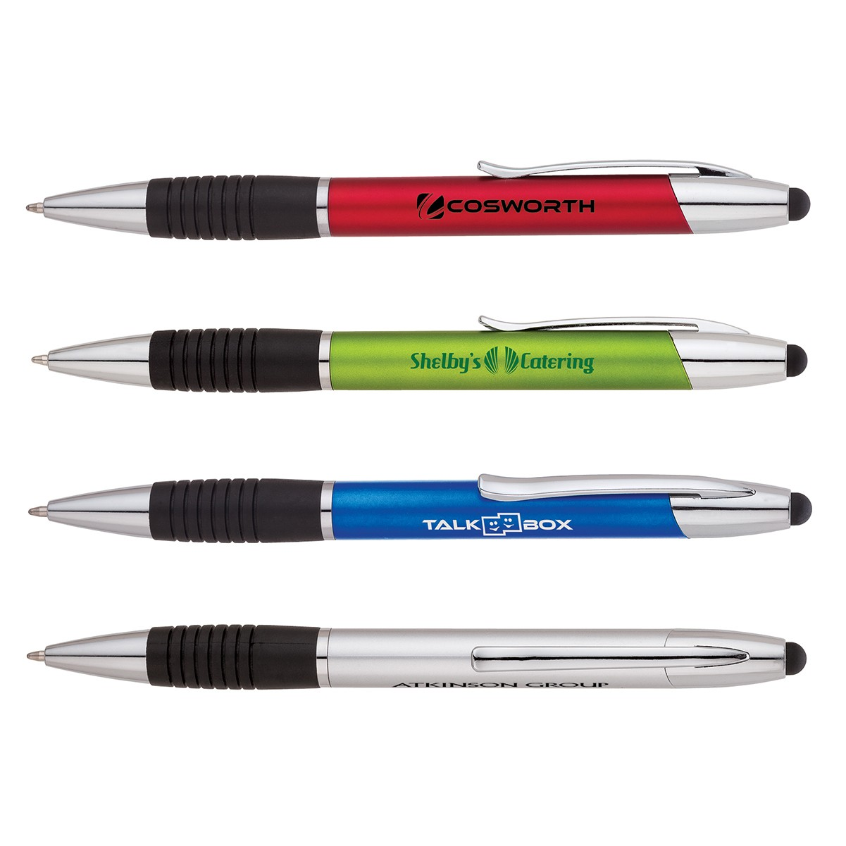 Ballpoint Pen/Stylus w/Chrome Trim