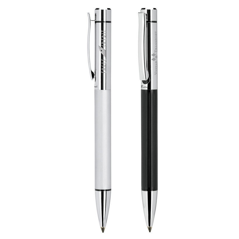 Bettoni Collection Twist Action Ballpoint Pen w/Chrome Cap