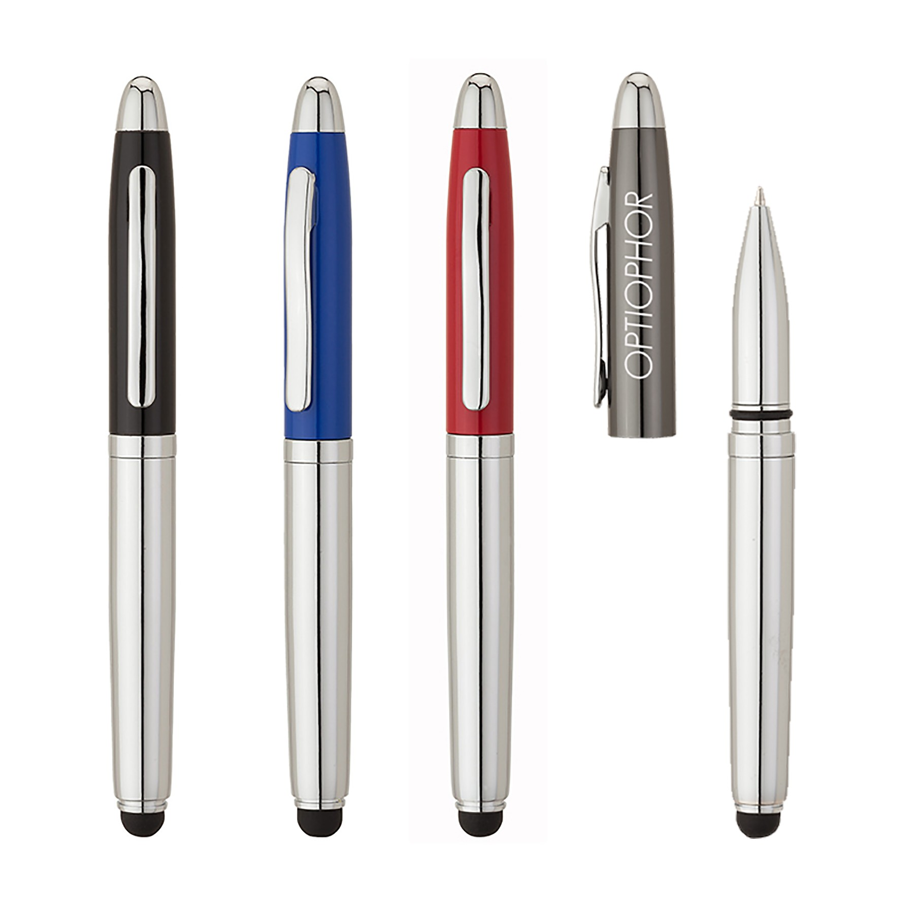 Aperture Ballpoint Pen/Stylus/LED Light