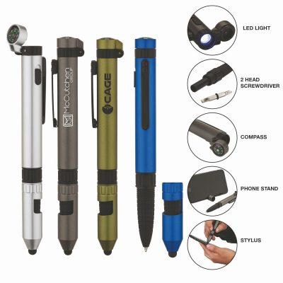 Rainier Utility Pen w/Stylus