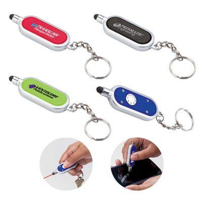 Iris Laser Pointer / Stylus Keychain