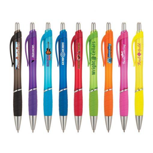 Wave - Clear Ballpoint Pen